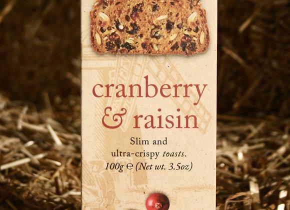 Millers Toast - Cranberry & Raisin