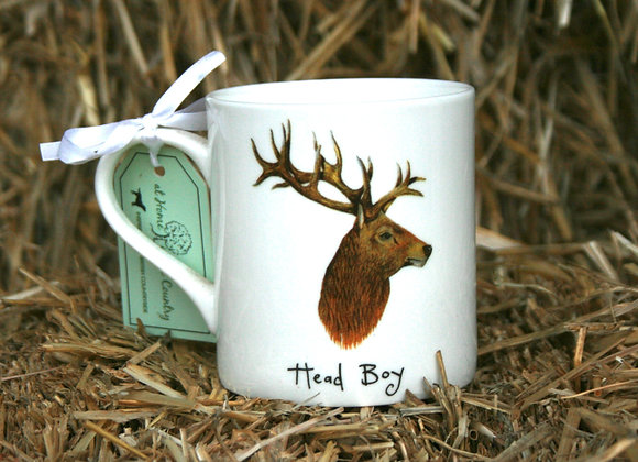 """At Home in the Country - """"Head Boy"""" Mug"""