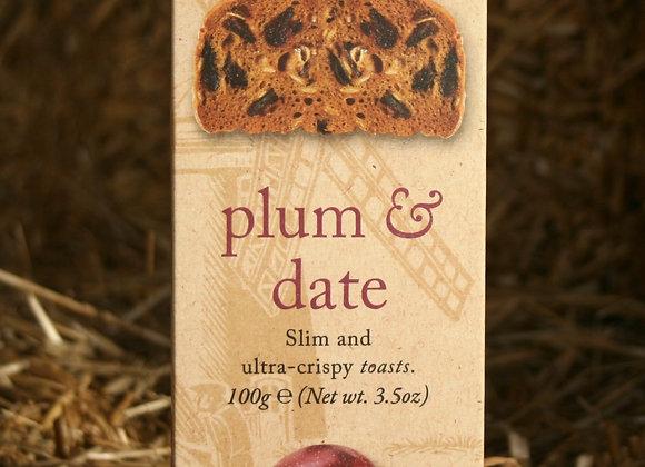 Millers Toast Plum & Date