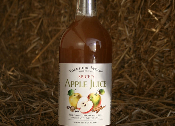 Yorkshire Wolds Spiced Apple Juice