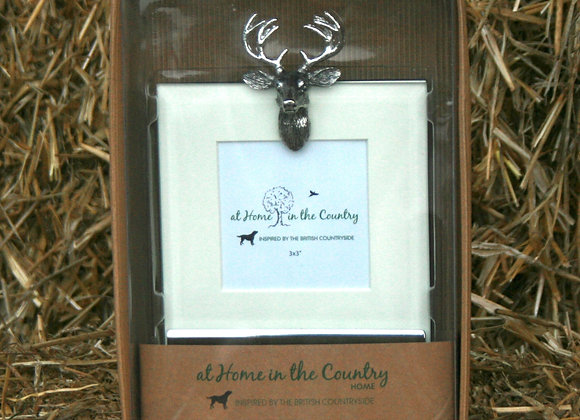 At Home in the Country -Stag Mirror