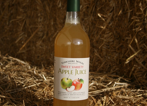 Yorkshire Wolds Apple Juice - Sweet Variety