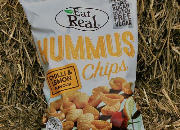 Eat Real Hummus Chips - Chilli & Lemon