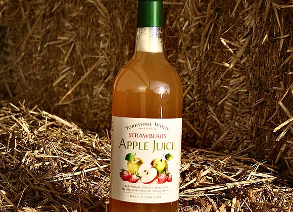 Yorkshire Wolds Strawberry Apple Juice