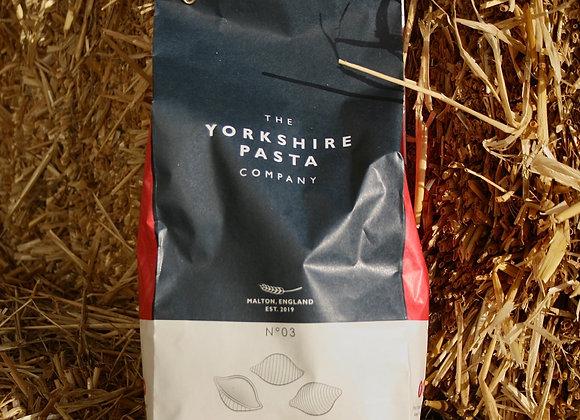 Yorkshire Pasta No3 - Conchiglie Rigate