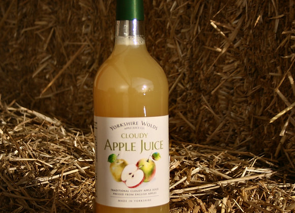 Yorkshire Wolds Apple Juice - Cloudy Variety