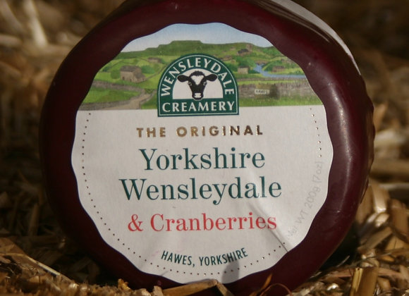 Yorkshire Wensleydale & Cranberries