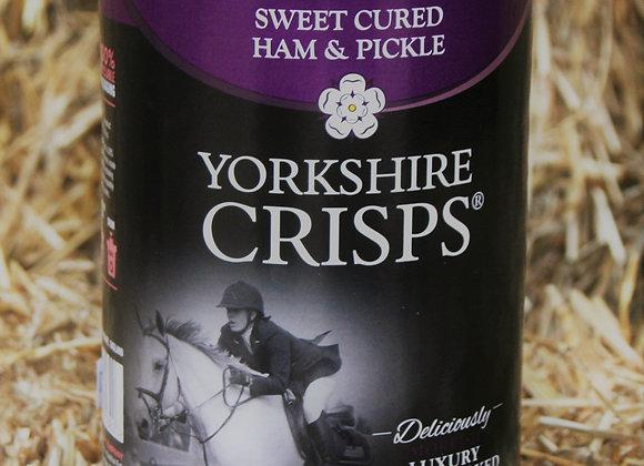 Yorkshire Crisps Sweet Cured Ham & Pickle