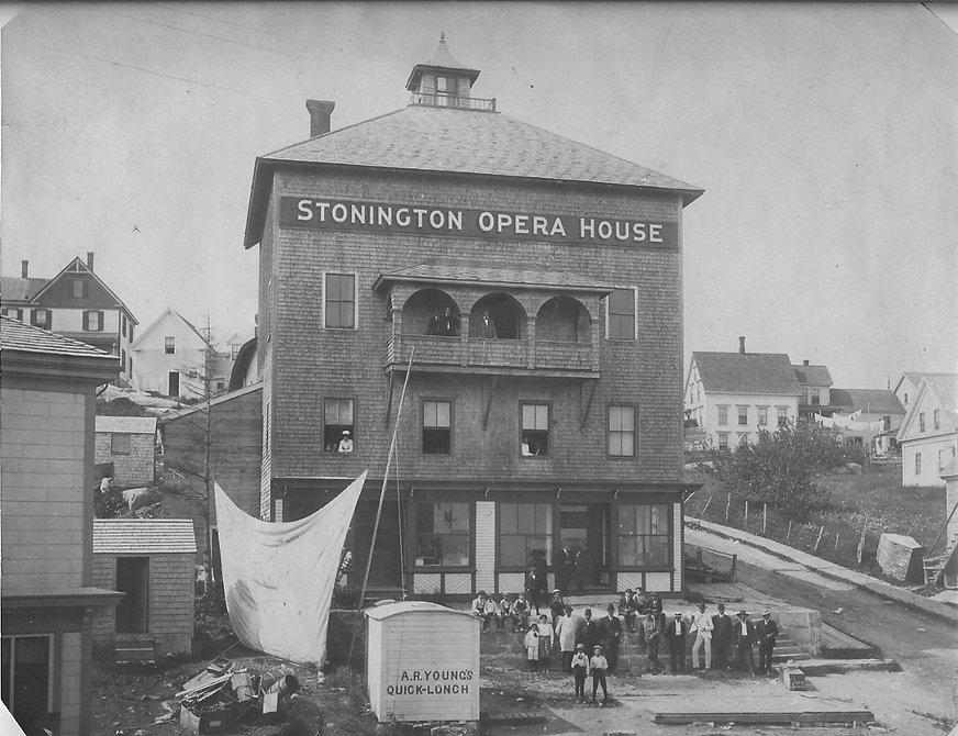 Stonington Opera House theater