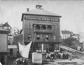 Stonington Opera House Turn of Century 3