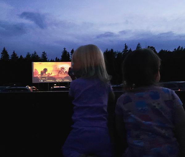 Stonington drive-in movie theater