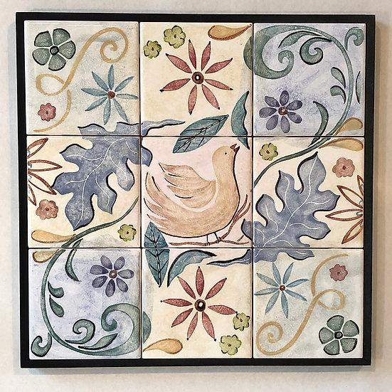 Song Bird Tile Panel
