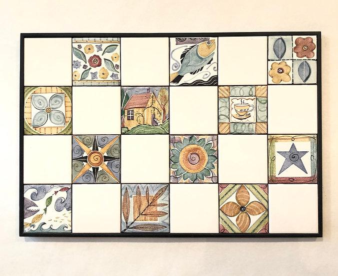 Levy LaRocque Decorative Tile Panel