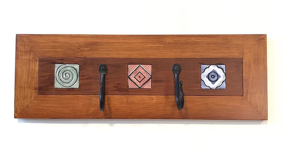 Graphic Tile Mosaic Hanger