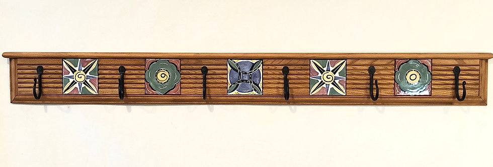 Multi Graphic Fluted Mosaic Hanger