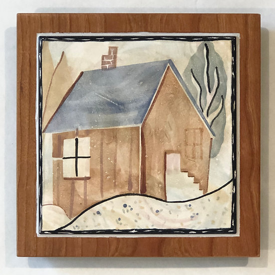 House Tile and Wood Frame