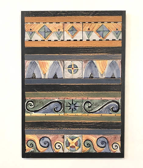 4 Row Vertical Tile Panel
