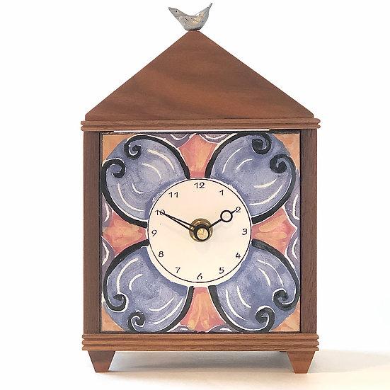 Scroll Table Clock