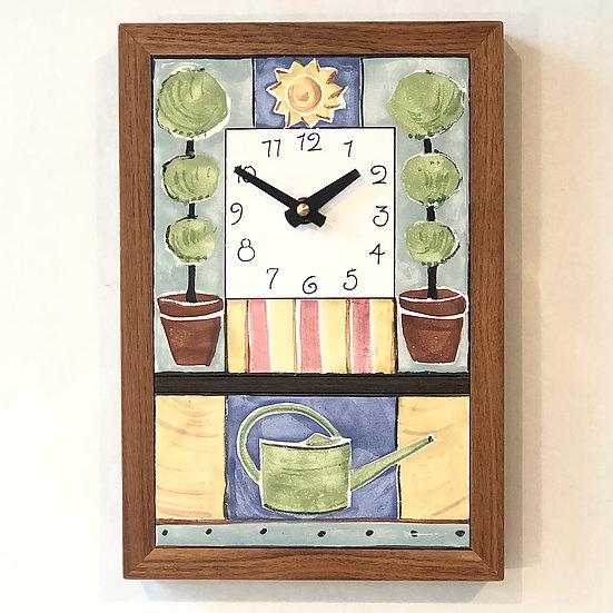 Topiary Wall Clock