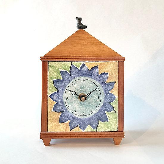 Dahlia Table Clock
