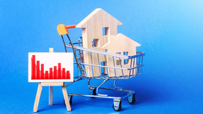House prices fall for the first time in 2021