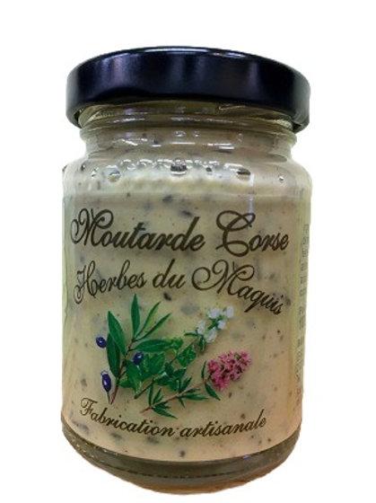 Moutarde Corse herbes du maquis