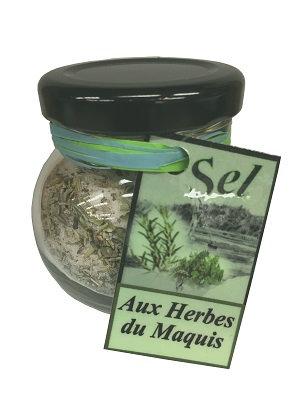 Sel aux herbes du maquis Corse 75gr