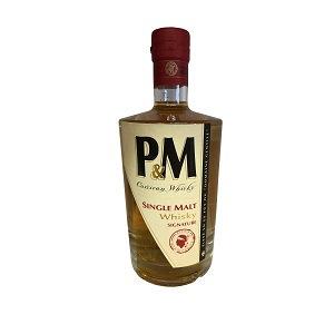 Whisky P&M signature