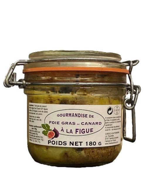 Foie gras de canard à la figue Corse