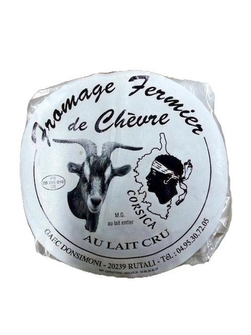 Fromage de Chevre fermier lait cru