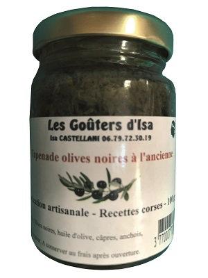 Tapenade olives noires à l'ancienne 100gr