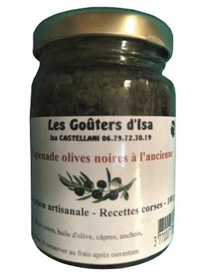 Tapenade olives noires à l'ancienne