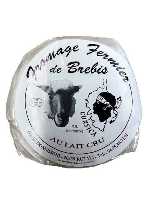 Fromage de Brebis fermier lait cru