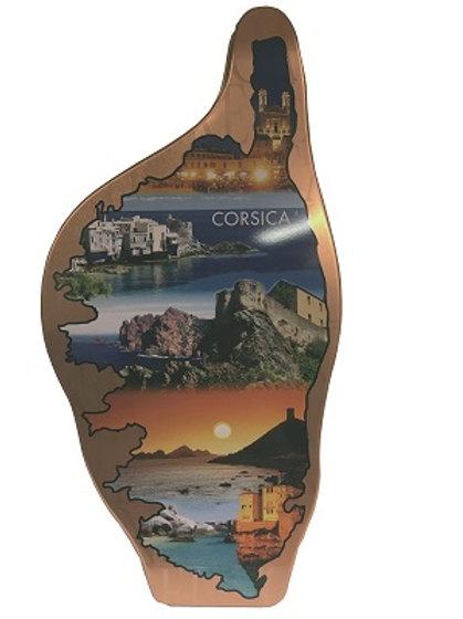 Boite à gâteaux forme Corse