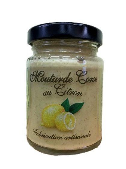 Moutarde Corse au citron