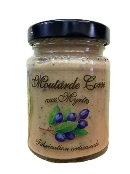 Moutarde Corse aux myrtes de Corse