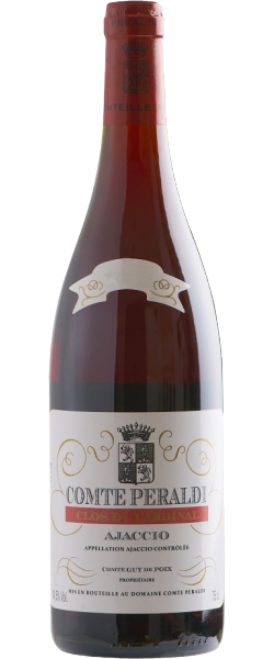 Comte Peraldi rouge cuvée Cardinal 2016 (Ajaccio)