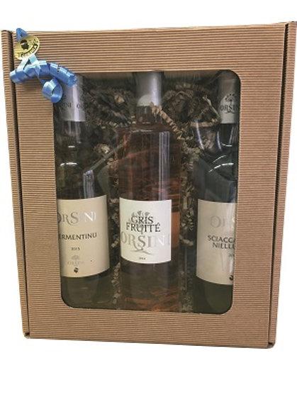 Coffret cadeau de vin Orsini 75cl