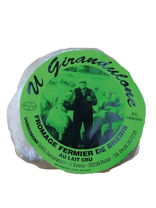 U Girandulone brebis lait cru 310gr