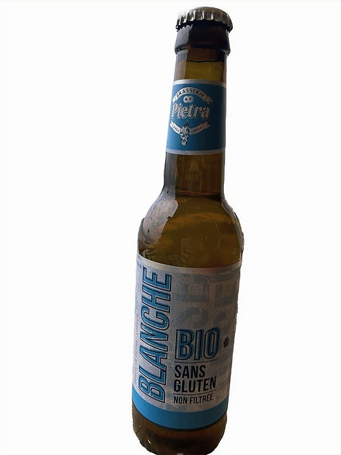 Bière pietra blanche bio sans gluten
