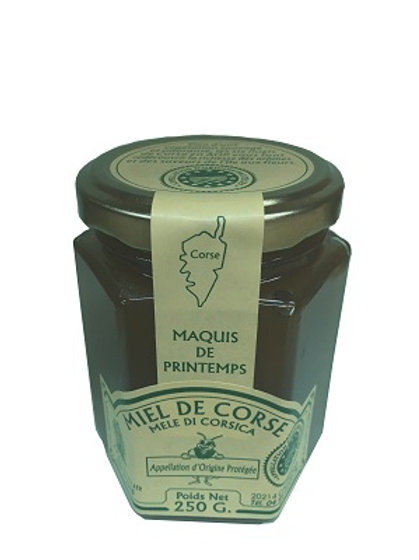 Miel de maquis de printemps 250gr AOP (Calenzana)