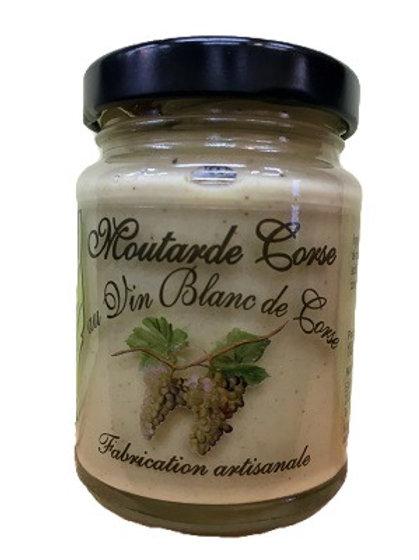 Moutarde Corse au vin blanc