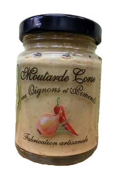 Moutarde Corse aux oignons et piments