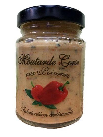 Moutarde Corse aux poivrons