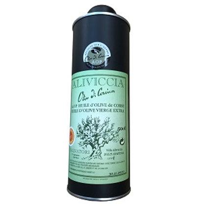 Huile d'olive en bidon 50cl AOP