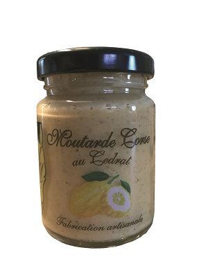 Moutarde Corse au Cédrat 100gr