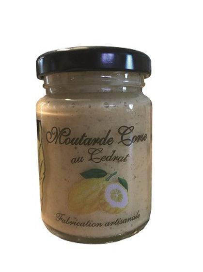 Moutarde Corse au Cedrat