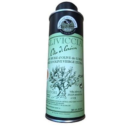 Huile d'olive en bidon 25cl AOP