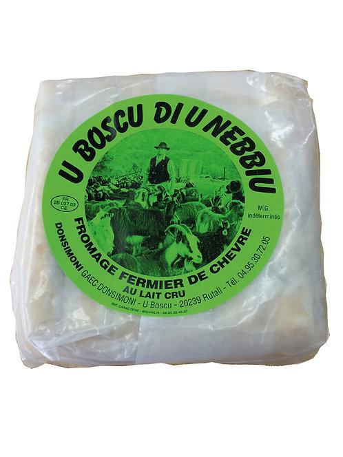 U boscu di u nebbiu chèvre lait cru 310gr