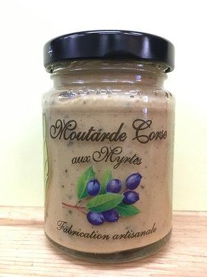 Moutarde Corse aux myrtes de Corse 100gr